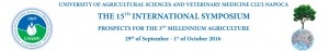 "15th International Symposium ""Prospects for the Third Millenium Agriculture"""